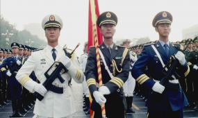 a0038部队 军队 检阅 阅兵 天安门 军事 视频素材