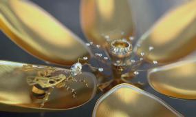 BS 002 黄金钻石三维机械蜜蜂