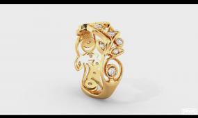 BS 088 4K钻戒展示 珠宝工艺 珠宝设计 珠宝展示