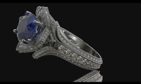 BS 105 2K钻戒展示 珠宝工艺 珠宝设计 珠宝展示