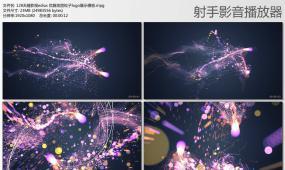edius 优雅炫丽粒子logo展示模板