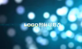 唯美梦幻光斑logo