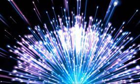 超清多彩粒子光束散射视频