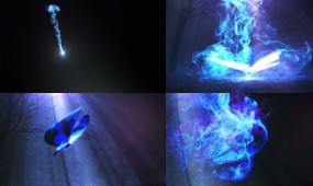 光效蝴蝶 光线 蝴蝶 柔美 粒子 唯美 梦幻粒子