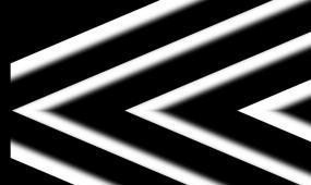 几何图案灯光秀视频