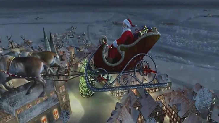 圣诞歌曲《铃儿响叮当》完整视频