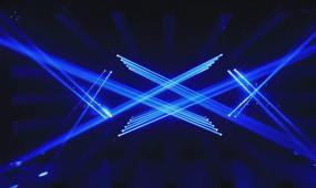 d1101灯光秀 炫丽光线 激光秀开场秀 彩灯七彩光线放射
