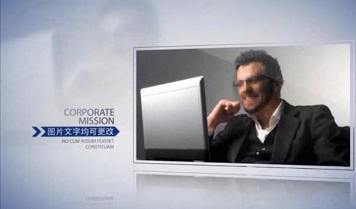 大气简洁商业企业产品宣传展示