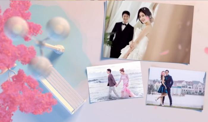ay52 我们的爱情 婚礼相册 迎宾相册 开场视频