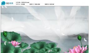 风筝误配乐成品 古风舞蹈背景 演出l ed视频素材