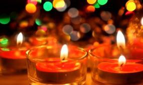 烛火通明 蜡烛视频 视频素材