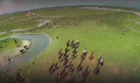 歌曲《草原的味道》背景视频