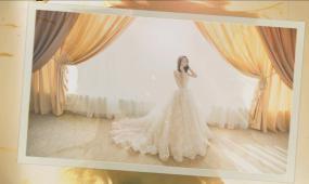 会声会影温馨复古婚礼电子相册模板