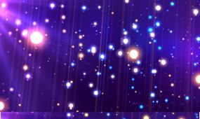 梦幻光斑粒子舞台背景视频素材