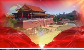 我爱你中国配乐成品歌曲背景晚会led动态视频素材