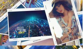旅游风景图文相册AE模板