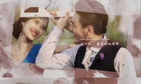水墨浪漫婚礼AE模板