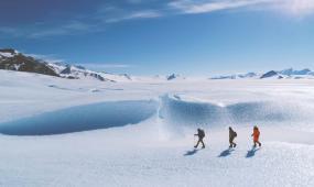 极地科考旅行高清实拍视频素材