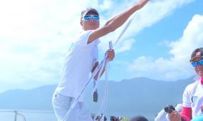 企业宣传帆船比赛高清实拍视频素材