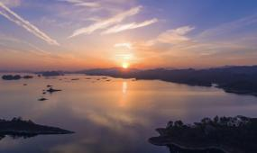 千岛湖风光实拍视频素材
