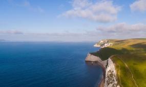 世界自然遗产侏罗纪海岸高清实拍视频素材