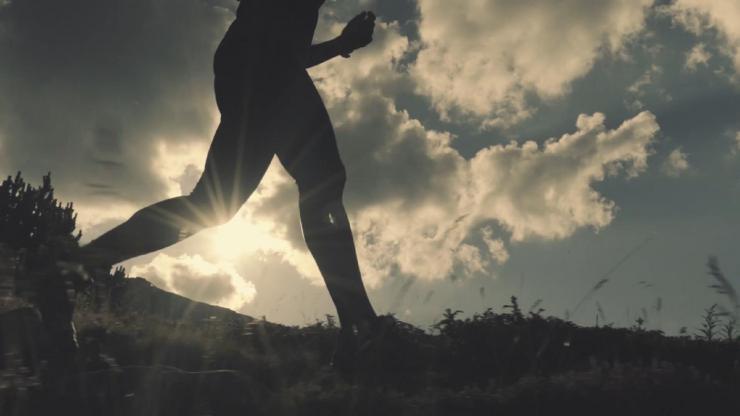 企业宣传片励志奔跑前进视频素材