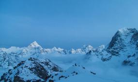 喜马拉雅山-珠穆朗玛峰延时4K