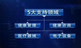 科技企业架构框架信息文字展示AE模板