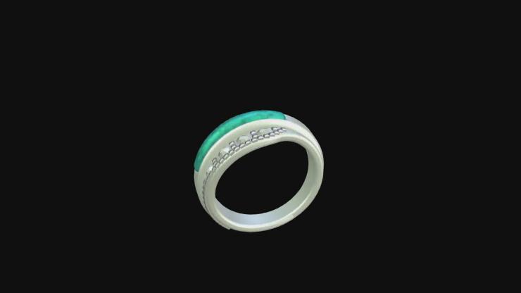 旋转的戒指