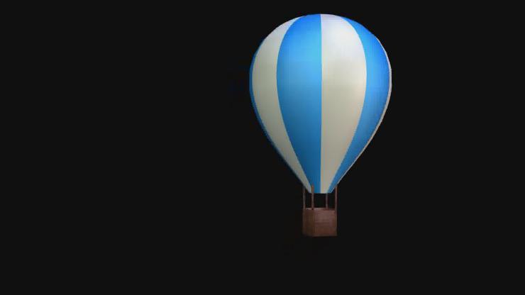 上升的气球