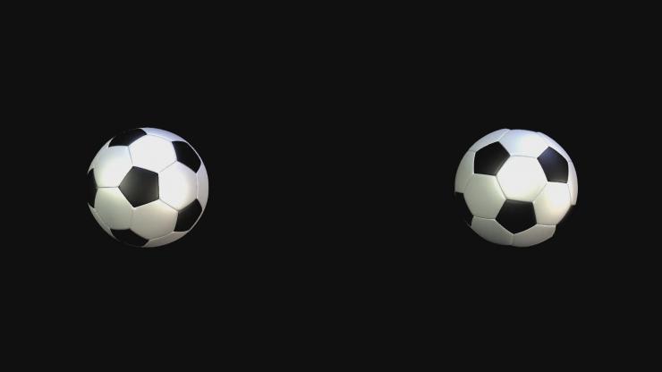 旋转的足球2
