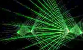 震撼五彩激光秀灯光舞台背景视频素材