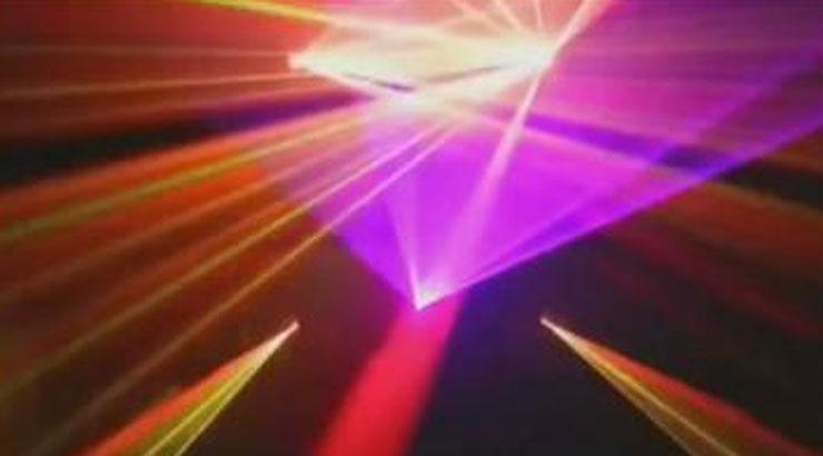 动感极品舞台灯光秀视频素材