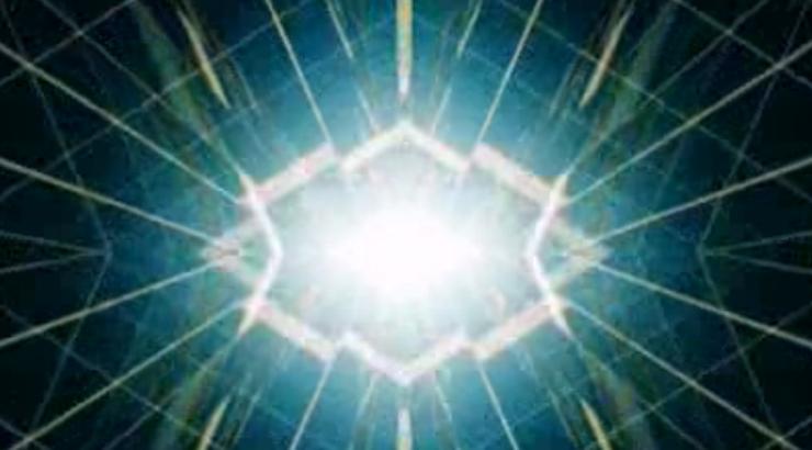 绿色灯光线条隧道舞厅走秀晚会背景视频
