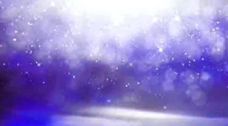 唯美大气夜晚紫色跳动粒子视频背景