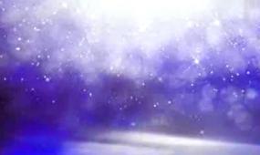 唯美大氣夜晚紫色跳動粒子視頻背景