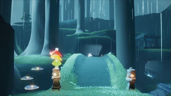 光遇云野许愿池在哪里-山洞冥想地点位置和光遇云野锦鲤池在哪里怎么冥想