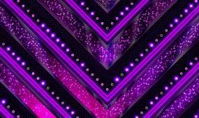 紫色闪耀动感酒吧VJ背景素材