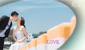 唯美婚礼温馨电子相册照片