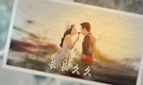 小清新婚礼爱情电子相册