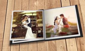 书本翻页婚礼相册展示