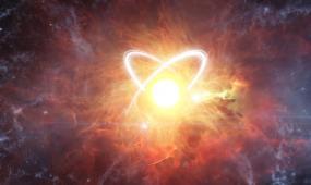 黄色大气震撼爆炸logo片头视频模板