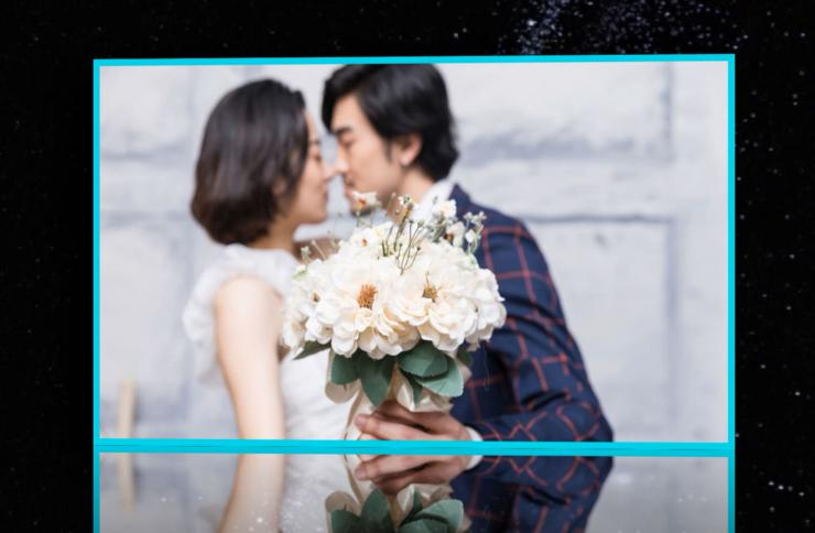 精致线条唯美婚礼相册