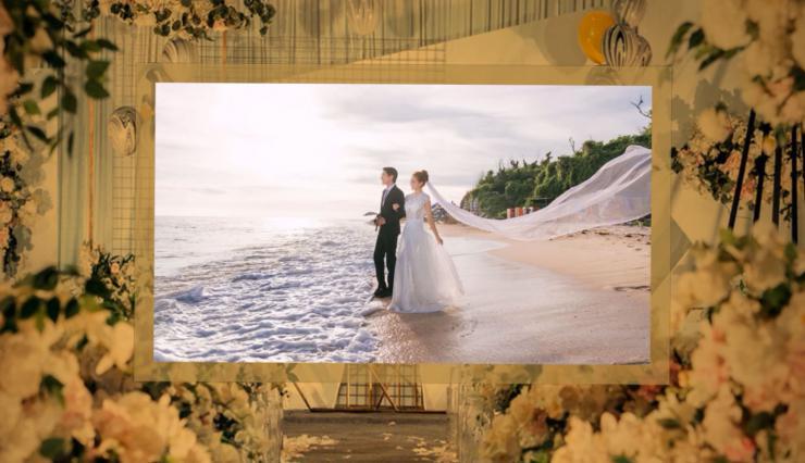 复古优美清新婚礼视频