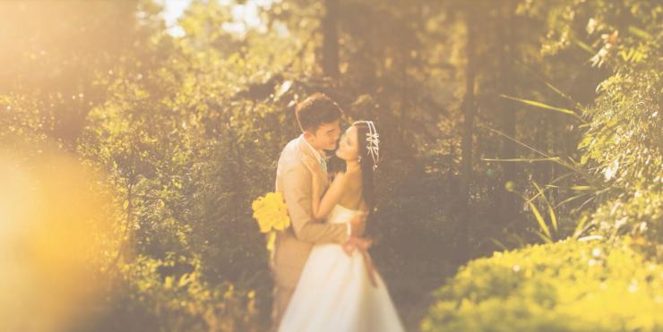 经典唯美光晕婚礼视频