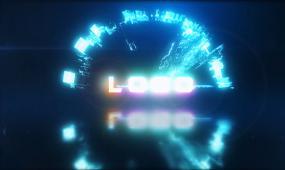 科技LOGO演绎AE模板