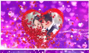 edius浪漫婚礼写真相册开场视频模板
