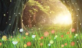4K绿野仙踪温馨唯美舞蹈背景