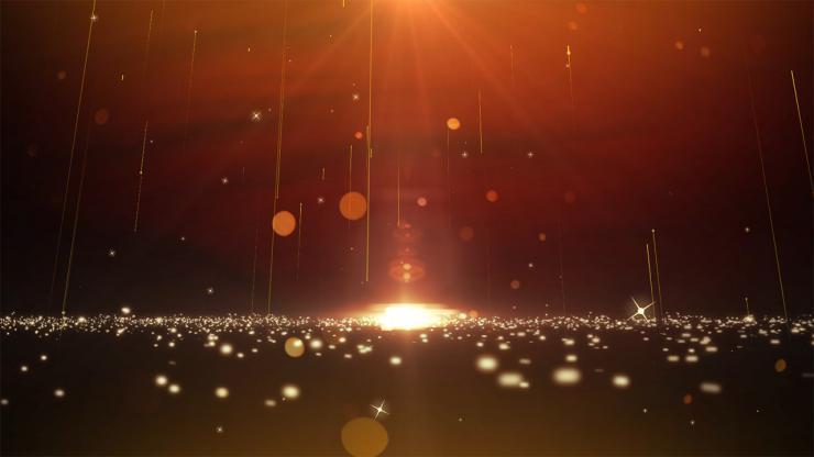 4K 流星背景